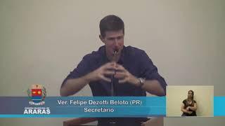 32ª Sessão Ordinária - Câmara Municipal de Araras