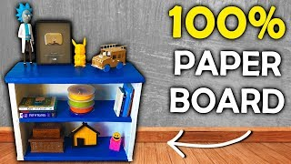 How to make a CARBOARD Shelving Organizer | Recycled Diy Projects