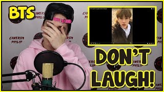BTS TRY NOT TO LAUGH / SMILE CHALLENGE [SO HARD]