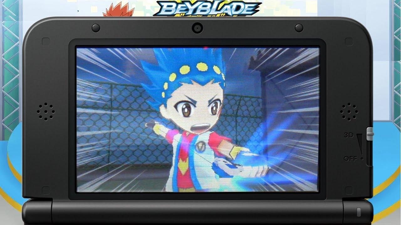 beyblade burst 3ds game english