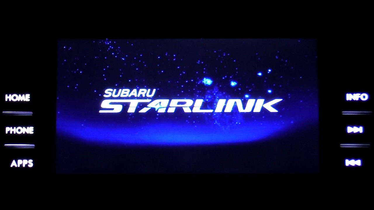 Subaru Starlink 2017 Xv