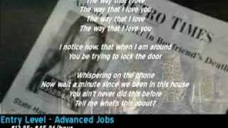 Ashanti - The Way That I Love You [Lyrics and Video]