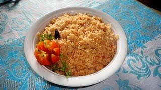 How to Cook Easy Tomato Rice Biryani (Andhra Style) .:: by Attamma TV .::