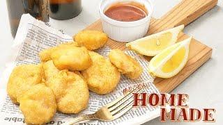 外はカリッと、中はふんわり。簡単に作れる絶品チキンナゲット: How to make chicken nugget - #とことんHOME MADE -