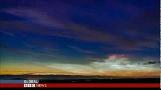 NORTHERN LIGHTS ON DISPLAY IN SCOTLAND - BBC NEWS