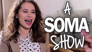 A Soma Show első epizódjának Viszkok Fruzsi a vendége. Viszkok Fruz...