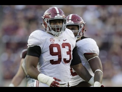 Jonathan Allen || Alabama Highlights || 2015