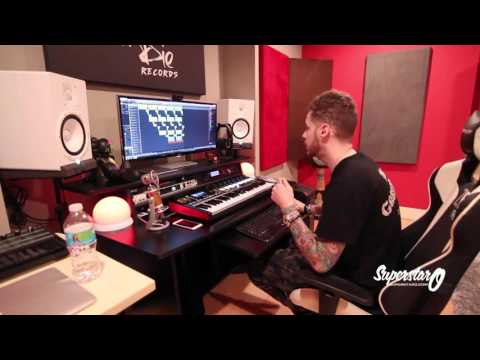 SuperStar O Beat Making  - [Studio Clips Of The Week]