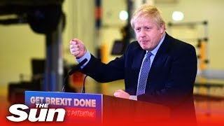 Boris Johnson: Brexit 'Blue Peter deal - here's one we made earlier' and calling Corbyn an onanist