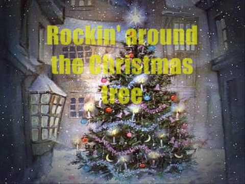Rockin Around the Christmas Tree singalong (with lyrics) - YouTube
