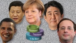 Top 10 Richest Countries in the World by 2014 GDP