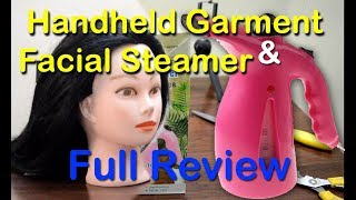 Hanheld Garment & Facial steamer full review | How to use facial steamer? Search&Share