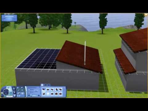 sims 3 diferent roof slopes 1 house diff rentes inclinaisons de toiture une m me maison. Black Bedroom Furniture Sets. Home Design Ideas