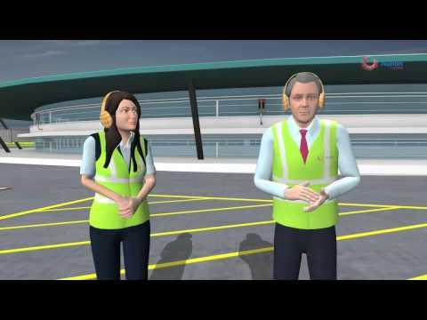Aircraft Marshalling and Push back Procedure
