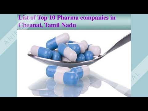 Top 10 Pharma Companies In Chennai