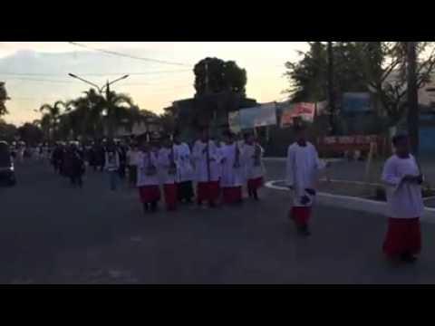 An overture to Bayombong, Nueva Vizcaya's Good Friday procession!