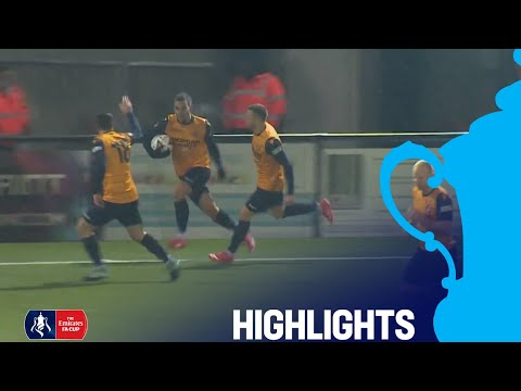 Slough 1-1 Sutton United (8-7) | Slough Come From Behind to Win! | Round 1 | Emirates FA Cup 2018/19