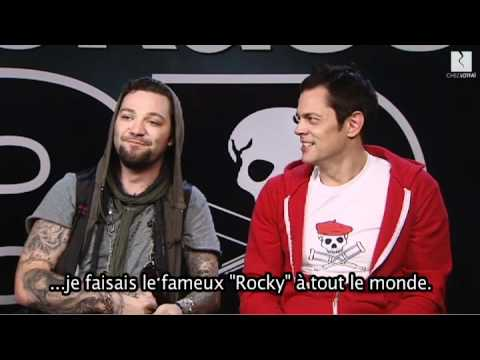"Bam Margera, Johnny Knoxville & Jeff Tremaine interview in Paris. ""LOOKS LIKE SOMEBODY DID MY JOB !"""