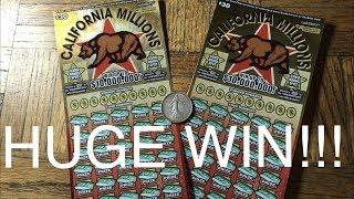 HUGE WIN!!! MAJOR PROFIT!!! NEW GAMES CALIFORNIA MILLIONS