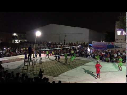 Qatar sports-2017; Eid special Nepali volleyball ( palpa Vs tamu ) final set-1