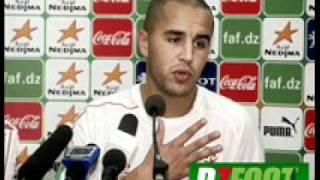 Algérie 2-0 Centrafrique, réaction de Bougherra 2017 Video