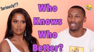 Who Knows Who Better Quiz | Boyfriend Tag