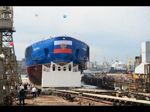 World's most powerful nuclear icebreaker Arktika launched in