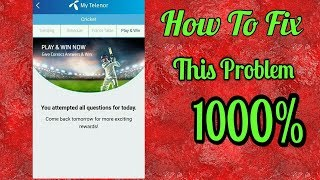 How to show My Telenor Question 10000% Real || Bhatti Trick || screenshot 5
