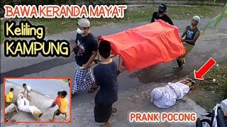Prank Pocong Bawa Keranda Keliling Kampung Bikin Heboh Warga