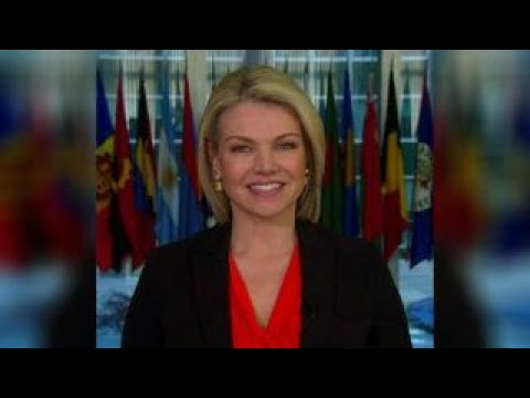 Nauert addresses North Korea and the protests in Iran