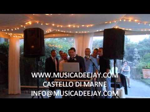 DJ PER MATRIMONIO - CASTELLO DI MARNE KARAOKE - WWW.MUSICADEEJAY.COM
