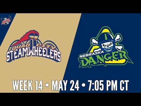 IFL Week 14 | Quad City Steamwheelers at Nebraska Danger