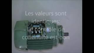 contrôle bobinage d'un moteur