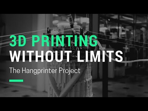 3D Printing Without Limits: The Hangprinter Project