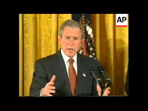 Bush plans to double homeland defence budget.