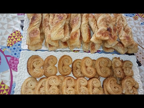 recette-des-palmiers-au-sucre-|-gâteau-avec-la-pâte-feuilletée-👌🤗