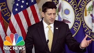 Paul Ryan: Jeff Sessions Recusal Should Only Happen If He's Subject Of Investigation | NBC News