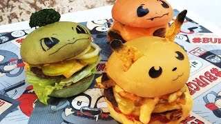 We Tried the Pokemon Burgers