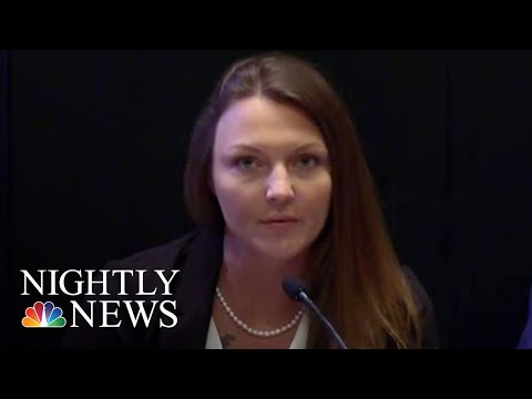 Jeffrey Epstein Accuser Calls On Other Women To Come Forward  NBC Nightly News