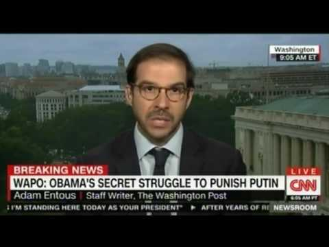 """Washington Post Obama aide feels he """"choked"""" over Putin but conterstrike measures were planned"""
