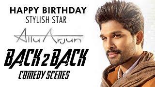 allu Arjun Back 2 Back Comedy Scenes | Stylish Star Allu Arjun Birthday Special | TVNXT Telugu