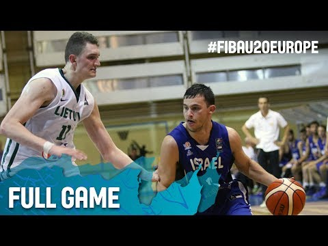 Lithuania v Israel - Full Game - FIBA U20 European Championship 2017