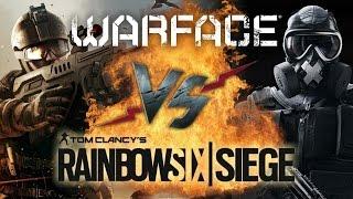 Рэп Баттл - Warface vs. Tom Clancy's Rainbow Six: Siege