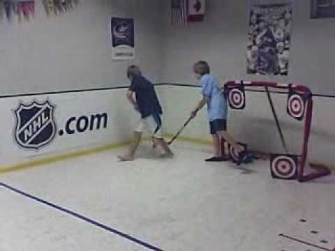 late night hockey in the basement youtube