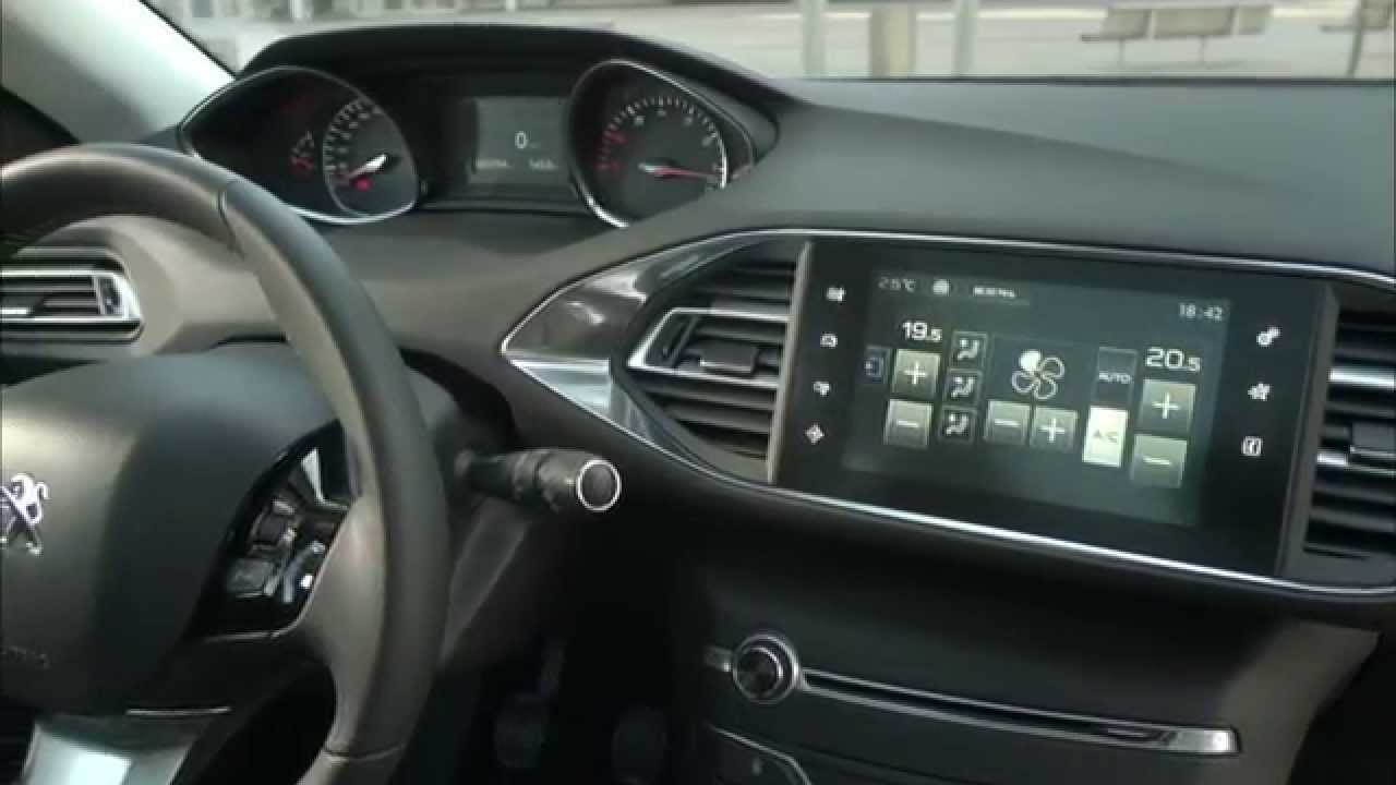 2014 peugeot 308 sw interieur design automototv deutsch youtube - Interieur design ...