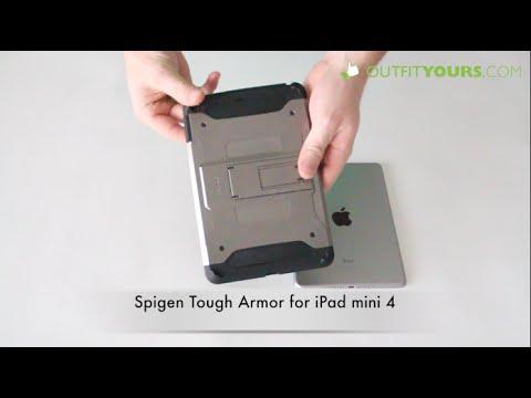 the best attitude 4b19a 326ec Spigen Tough Armor for iPad mini 4 Review - SGP11737