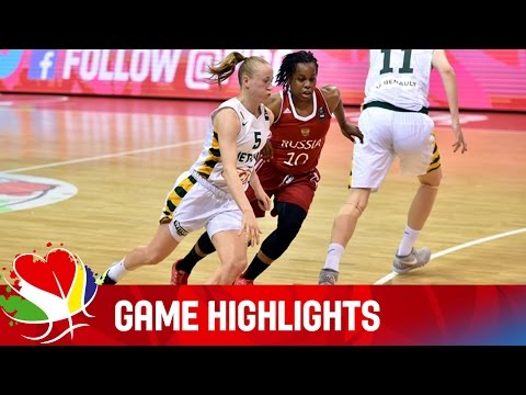Lithuania v Russia - Game Highlights - Group F - EuroBasket Women 2015