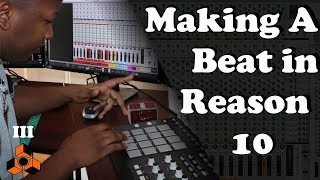 Making A Bell Trap Beat with Reason 10 | With MPD32 and Midi-Controller |But Not Calm