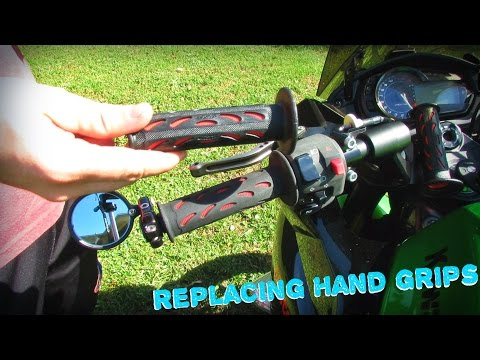 How To Replace Motorcycle Hand Grips (The Easy Way)