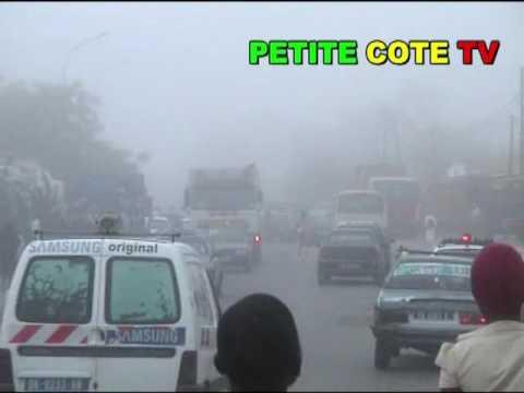 Du jamais vu à Mbour  Le brouillard colonise la ville